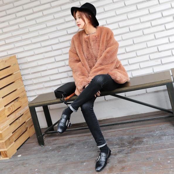 オルチャンファッション秋コーデその2