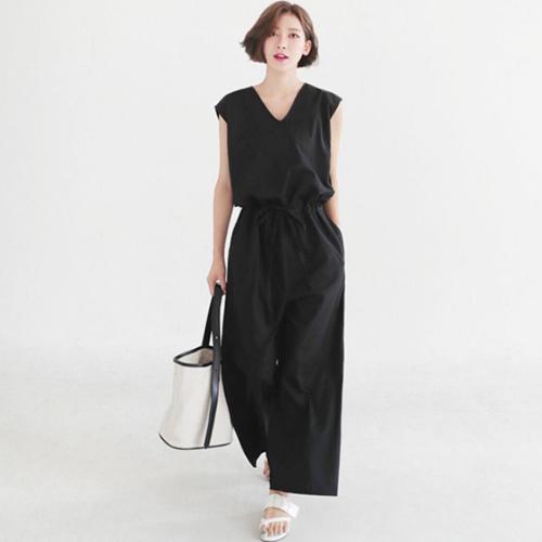 オルチャンファッションのベーシックコーデサンプル02