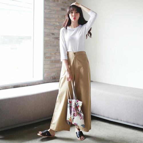 オルチャンファッションのベーシックコーデサンプル01