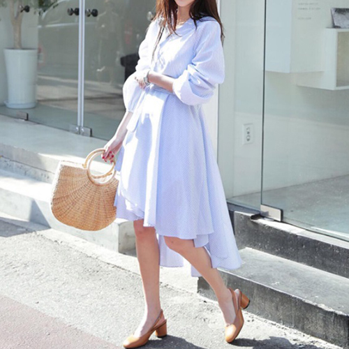 オルチャンファッションのフェミニン(ガーリー)コーデサンプル04