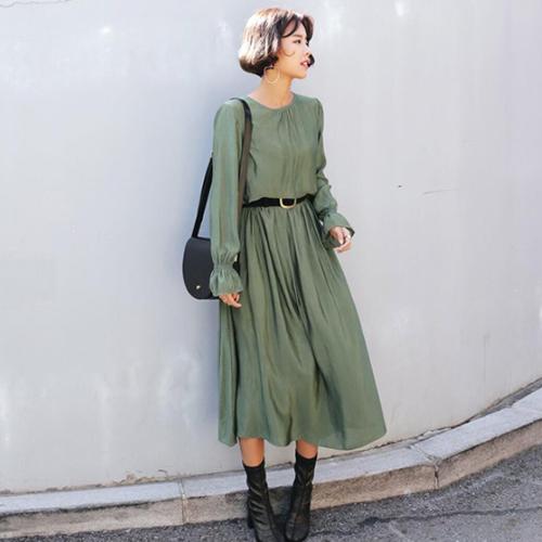 オルチャンファッションのフェミニン(ガーリー)コーデサンプル03