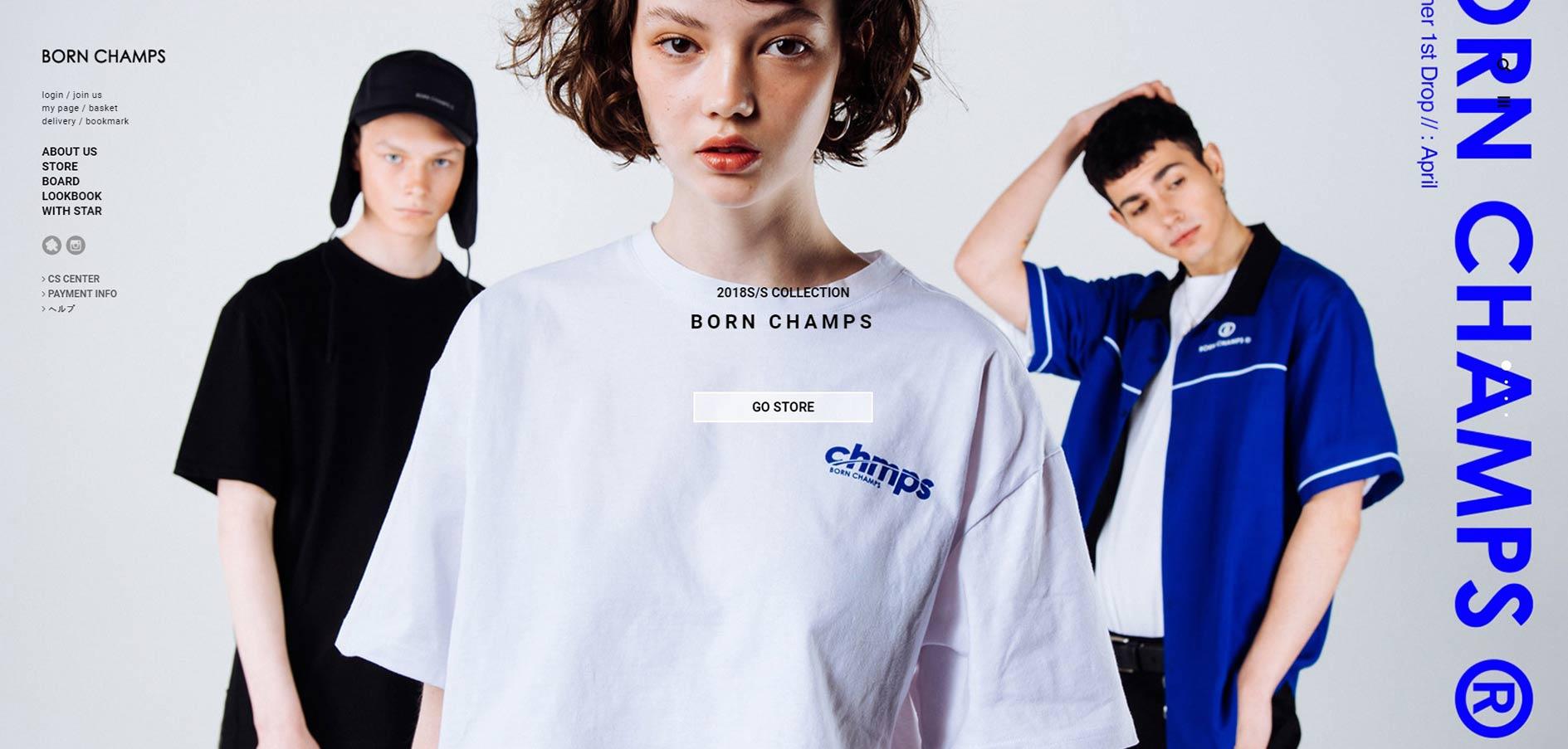 オシャレ男子に人気のメンズ韓国服(オルチャンファッション)通販サイトbornchamps